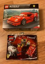 Lego 75890 F40 +30196 Shell Ferrari Pit Crew Collection