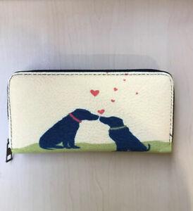 Dog Pug Print Purse / Wallet