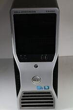 Dell Precision T3500 qc w3530 2.8ghz 18gb 300gb dvdrw raid nvidia 2000 win 7 dvi