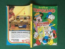 Disney TOPOLINO n.1513 del 25/11/1984 con CATALOGO BARBIE , GAZEBO