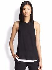 NWT A.L.C. Silk Tide Top - Black/White - Sz M - $326
