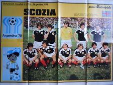 POSTER NAZIONALE SCOZIA SCOTLAND - Mundial 1978  [GS50]
