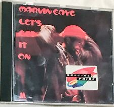 MARVIN GAYE CD ALBUM LETS GET IT ON DISTANT LOVER KEEP GETTING IT ON 1994