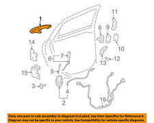 Chevrolet GM OEM 08-13 Impala-Outside Exterior Door Handle Right 25889997