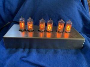 Chronotronix V300 Nixie Tube Clock NICE