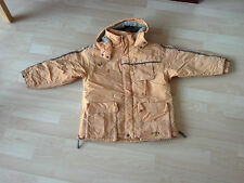 Winterjacke Jacke von Pampolina Pampolino boys in Größe 122 / 128 in hellorange