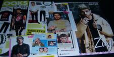 Zayn Malik one direction 1d póster UK us recortes informes colección de prensa
