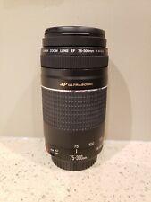 Canon EF 75-300mm F/4-5.6 III USM Lens
