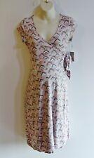 A:Glow Maternity Dress Size XL X Large Wrap Cap Sleeve Retail $50