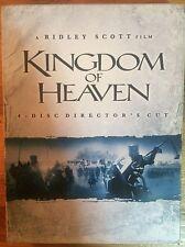 Kingdom of Heaven (DVD, 2006, 4-Disc Set, Director's Cut; Widescreen)
