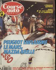 COURSE AUTO n°10 25/06/1991 24h du MANS F3000 MUGELLO R19 16S & CABRIOLET