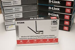 D-Link DWA-582 Wireless AC1200 Dual Band PCIe Desktop WIFI Adapter