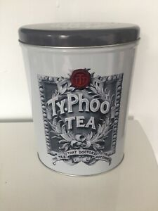 Vintage Style Typhoo Collectable Tea Leaves Tin Storage Canister