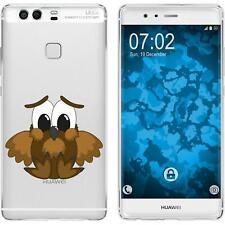 Case für Huawei P9 Silikon-Hülle Cutiemals M9 + 2 Schutzfolien