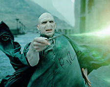 Ralph FIENNES SIGNED Autograph Photo 2 AFTAL COA Harry POTTER Lord VOLDEMORT