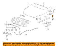 GM OEM Hood-Hinge Nut 11514519