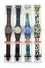 Rare SWATCH Watch 1991 Matching Set 0966/5555 700 years Swiss Federation