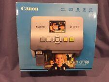 Canon 3501B001,SELPHY CP780 Portable Color Dye-Sublimation Photo Printer  Silver