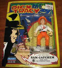 Vintage 1990 Dick Tracy Sam Catchem Sealed Action Figure Playmates Disney