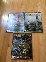 Lot d20 Gaming Frontiers Magazine Vol 1 2 & 4 RPG D&D Dungeons & Dragons Fantasy