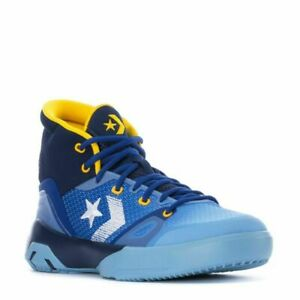 CONVERSE G4 HIGH HEART OF THE CITY BASKETBALL MEN SHOES BLUE NAVY SIZE 10 NEW