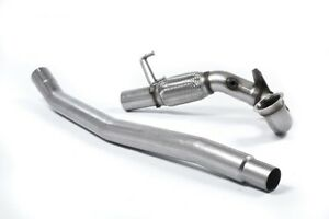 "Milltek Sport Golf R MK7 & S3 8v Decat Downpipe 3"" Exhaust SSXVW348 - Fits To OE"