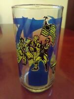 Coca Cola Heritage Collection Series 1776 Drinking Glass Vintage 1976