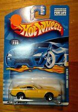 2000 Hot Wheels  # 236  Ferrari 365 GTB/4 New Old Stock 5 Spoke Wheels