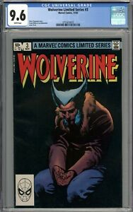 Wolverine Limited Series #3 CGC 9.6 NM+ WHITE PAGES