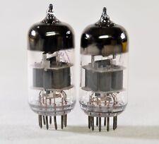2 x 6N23P / E88CC / 6DJ8 / 6922 DUAL TRIODE REFLEKTOR TUBES  NEW NOS from 1960's