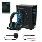 For PS4 Xbox One PC SADES Gaming Headset Headphones Stereo Surround With Mic
