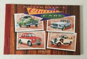 MAD669) Australia 1997 Classic Cars Prestige Booklet