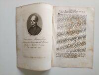 1818 Ortolani Ritratto/Bio Francesco Maurolico, Matemat Astron Storico Messina