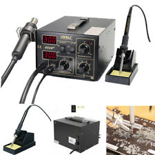YIHUA 852D+ Soldering Rework Stations Hot Air Gun Solder Iron Welding Machine