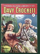 Cowboy Picture Library Comic No. 355 Davy Crockett