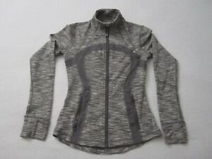 Lululemon Pullover Shirt Long Sleeve 1/4 Zip Women's Size 4 (L13)