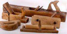 Konvolut antike Hobel Holzwerkzeuge etc. 19. Jahrhundert