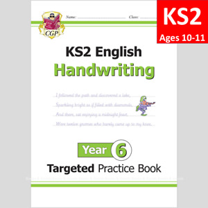 KS2 Year 6 English Targeted Practice Book Handwriting Ages 10-11 CGP
