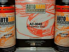 Glamour Clear Coat 2 - 1 Mix 6 Qt Kit High Gloss is Comparable To Wet Wet Plus