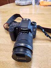 Canon EOS 70D 20.2MP Digital SLR Camera - Black (Kit w/ EF-S IS STM 18-135mm...