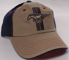 Hat Cap Ford Mustang Tri Bar Pony Vintage CF