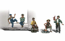 Woodland Scenics A2138 N HOBOS FIGURES People Bums Men Man Train Scenery New I