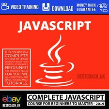 Complete JavaScript Course For Beginners to Master - 2019 - Video Training