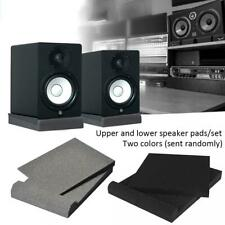 1 Pair Studio Monitor Speaker Acoustic Isolation Foam Pads Isolator Shock-proof