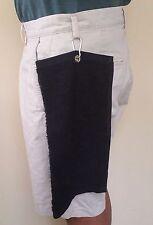 Personal Golf Club Towel two fold 32CMX16CM Navy Blue Quality Cotton Chain HOOK