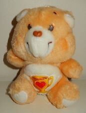 Peluche BISOUNOURS care Bears GROSCHAMPION Vintage 20 cm années 80'