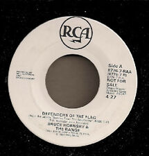 "Bruce Hornsby & The Range Defenders of the Flag Promo US 45 7"" single USA"