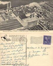 ERIE PA HAMMERMILL PAPER COMPANY 1953 VINTAGE POSTCARD