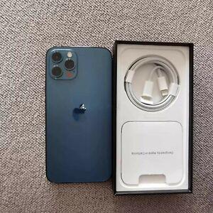 Apple iPhone 12 Pro - 256 Go - Bleu Pacifique (Déverrouillé)