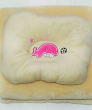Carter's Baby Sleeping Blanket + Pillow Dolphin Light Brown